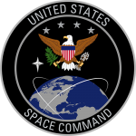 Symbol for US Space Command