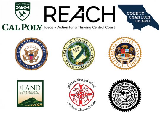 Logos for the 9 partners in the Diablo Canyon MOU